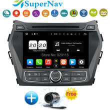 ROM 32G Octa Core Android 6.0.1 Fit HYUNDAI IX45 Santa fe 2013 2014 2015 Car DVD Player Navigation GPS Radio with DVD Radio GPS
