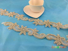 ws034 beaded  Rhinestone applique,couture crystal belt ,wedding applique,beaded patch for wedding sash,bridal accessory