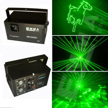 DMX+ILDA+SD+2D+3D Multi color 1w 1000mw green laser light/dj lights/stage light/ laser light/laser projector