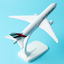 Emirates Airways Airplane Airline A380 16cm Alloy Metal Aeroplane Models Plane Aircraft Models Stand Toy Gift