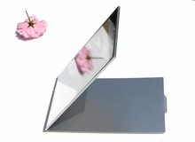 Rectangular Compact Mirror Handbag Mirror Makeup Folding Mirror 15cm x 10cm 50X/lot(China)
