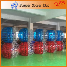 Manufacturer !!! 0.8mm PVC Human Size Ball Inflatable Durable Body Zorbing Bubble Ball Zorb Ball Inflatable For Sale