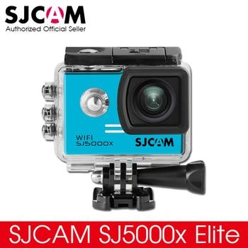 D'origine SJCAM SJ5000X Elite WiFi 4 K 24fps 2 K 30fps Gyro sport DV 2.0 LCD NTK96660 Action Étanche Caméra Plus Proche À SJ6