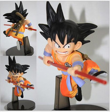 Hot 15cm Wholesale Dragon Ball Anime Hand To Do Animation Budokai Will Juvenile Monkey King Doll Gift Free Shipping