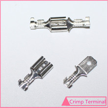 20sets 6.3mm Crimp Terminal 6.3 mm Male Female Spade Connector for 22-16AWG Wire