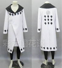 2016 Naruto Rikudo Sennin Uchiha Obito/Uchiha Madara Cosplay Costume Anime Custom Made Uniform