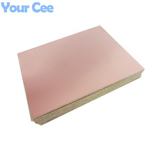 5pcs Epoxy Fiber FR4 Copper Clad Plate Laminate Circuit Board Double Side PCB 75 x 100 x 1.5mm 10X7.5cm DIY 2016 New