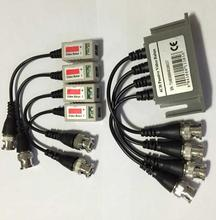 CCTV 4CH UTP CAT5E BNC Video Balun Transceiver + 2-pair Video Balun