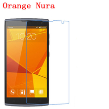 5 Pcs Ultra Thin Clear HD LCD Screen Guard Protector Film With Cleaning Cloth For Orange Nura.(China)