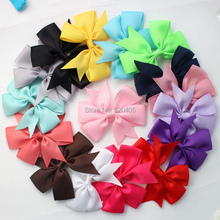 Buy 100pcs NEW 28Colors Grosgrain Ribbon Pinwheel Bows WITHOUT Clip,Girls' Hair Accessories Boutique Hair Bows for $18.73 in AliExpress store