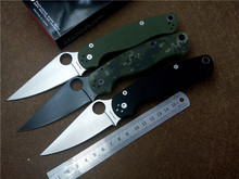 Pocket Folding Knife KESIWO paramilitary C81 S30V blade G10 Handle outdoor EDC Knives Survival camping utility tactical knife(China)