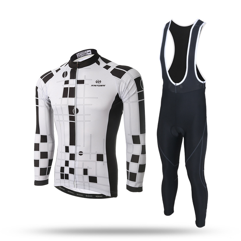 Cycling Clothing Limited Men Long Sleeve Ropa Ciclismo Jersey Riding A Long Coat Suit 2017 New Spring Sleeve Male For <br>