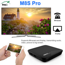 Buy SATXTREM M8S PRO Android 7.1 Set-top Boxes Amlogic S912 Octa Core 64Bit Smart TV Box DDR3 2/3G 16/32G HDMI 2.0 Wifi Media Player for $63.00 in AliExpress store