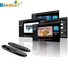 Binmer Mecall 2.4GHz Fly Air Mouse Wireless Qwerty Keyboard Remote for PC Android(China)