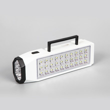 1pcs LED Flashlight Mini 38 LED Rechargeable Emergency Light Lamp Home Outdoor Camping New Portable for emergency