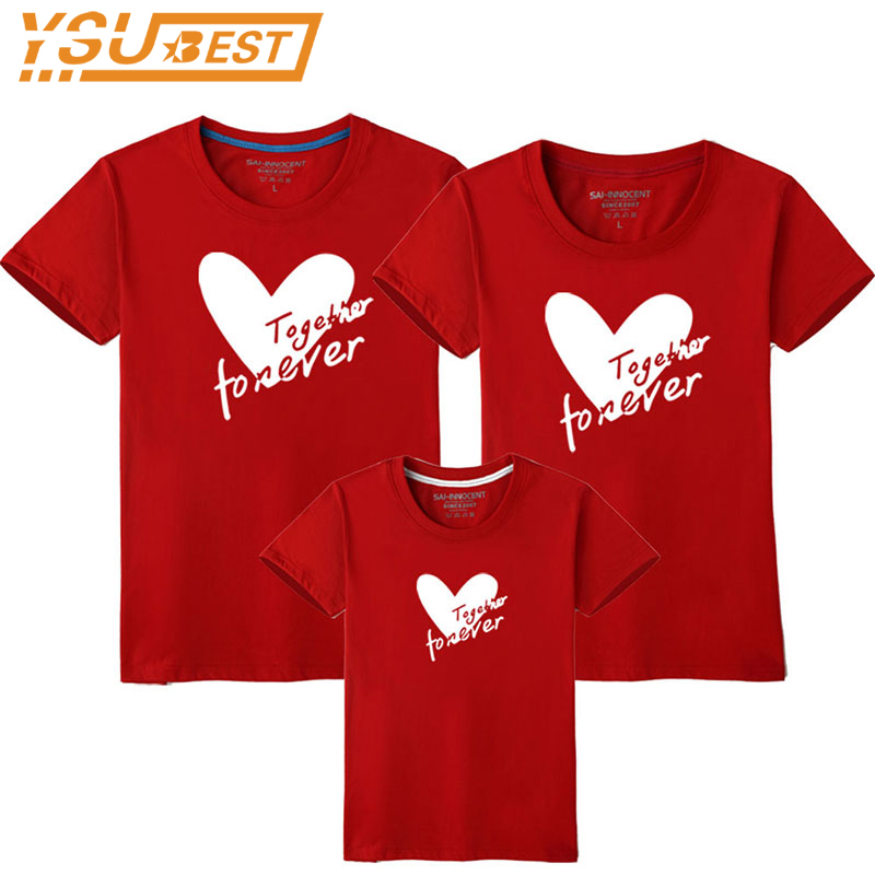 Valentine/'s Day Mother Son Matching Heart Sweatshirt Tops Blouse Women Baby Boys