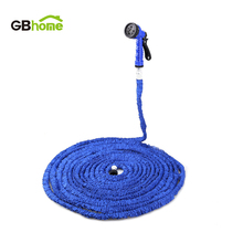 Extensible Expandable Fit Magic flexible Plastic Garden water Hose Drip Car Watering Spray Gun 25FT 50FT 75FT 100FT 125FT