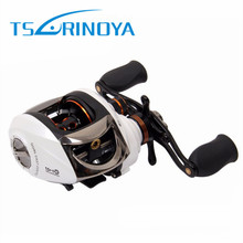 Free Shipping Tsurinoya Baitcasting Fishing Reel Right Left Hand 11BB/6.3:1 210g Super Light Bait Casting Fishing Reel