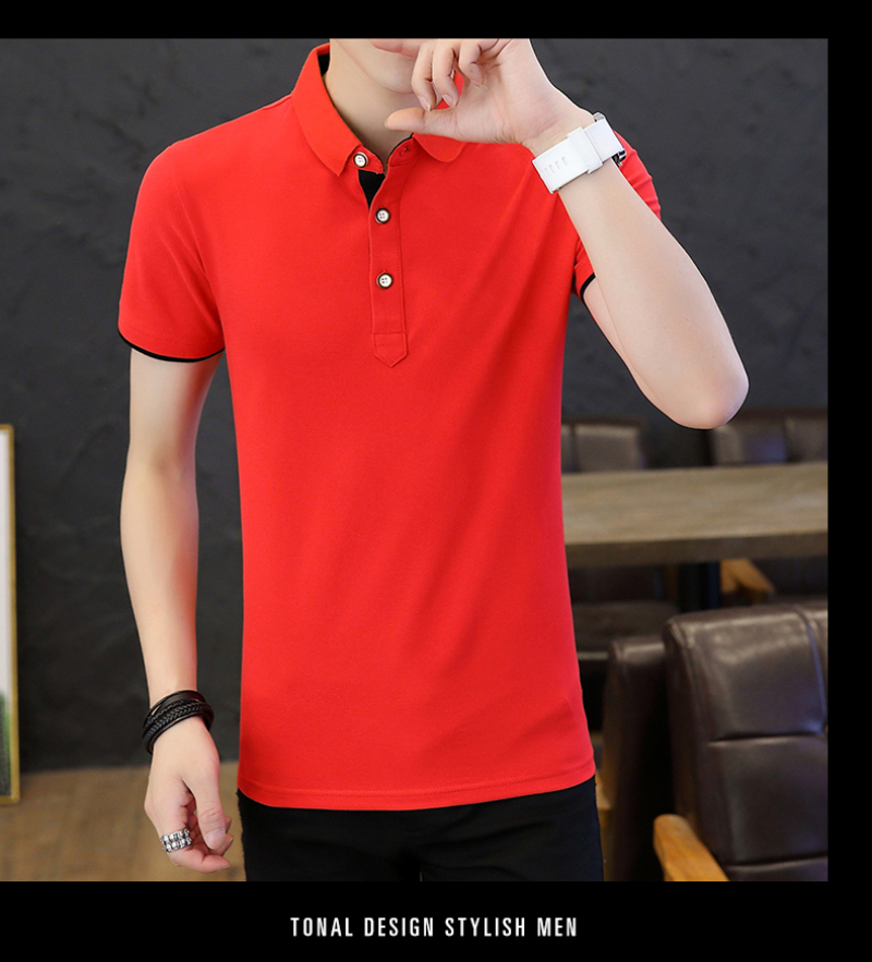 SD Polo Shirts Men 2018 New Arrivals Casual Male Polo Shirts Breathable Cotton Tops High Quality Solid camisa Polos Homme 413 18