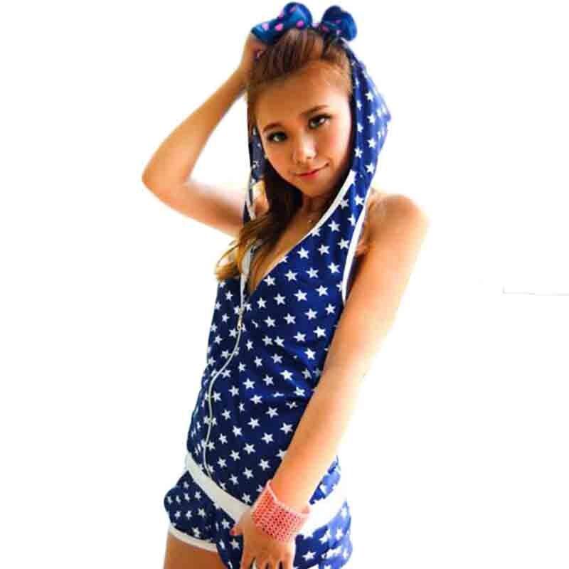 New Style Three Pieces Bikini Tankini Swimsuits Printing Stars Cover Ups Beach Wear Halter Bandage Biquini Maillot De Bano DB68<br><br>Aliexpress