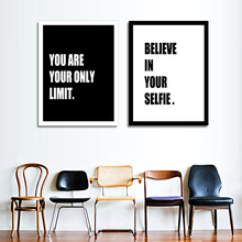 Modern Inspirational words Poster Print Picture Canvas Painting Wall Art Design Home Decor Wall Pictures On Canvas Paintings Art