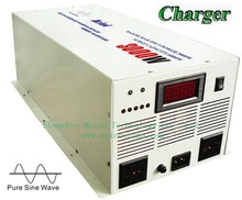 High Quality Digital Display Pure Sine Wave 24V DC to 220V AC Continuous PSW Sufficient 3000W Power Inverter with Charger