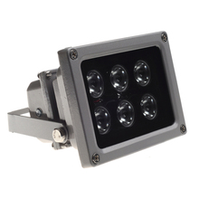 CCTV Array IR illuminator infrared lamp/white light 6pcs Array Led IR  Outdoor Waterproof Night Vision for CCTV Camera