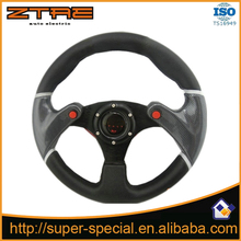Buy Universal Black PVC Leather 320mm Car Steering Wheel Cover 13 inch Racing Sport Auto steering-wheel Interior accessories for $14.22 in AliExpress store