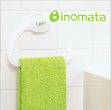 New towel hanger not only saves your room, but also help your towel keeps dry and clean of your bathroom and rack(China)