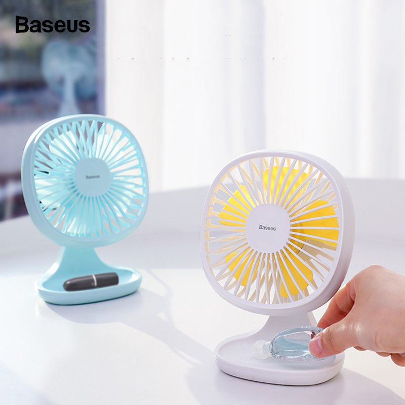 Portable Mini Desktop Fan USB Charging Adjustable Silent Mini Fan Air Cooler