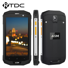 Original AGM A8 SE IP68 Waterproof Mobile Phone 5.0'' 1280*720 2GB RAM 16GB ROM Qualcomm MSM8916 Quad Core 8.0MP 4050mAh OTG GPS(China)