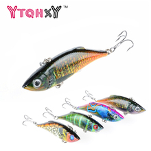YTQHXY 80mm 11.8g Fishing Lure Fishing Hard Bait VIB with Lead Inside Ice Sea Fishing Tackle Fly Fishing Wobbler Lure YE-355(China)