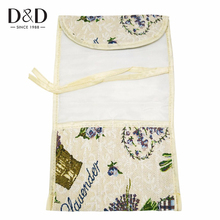 2 Designs Flower Pattern Knitting Needles Organizer Bag Sewing Tools Holder Bag Fabric Crafts 37*21.7cm