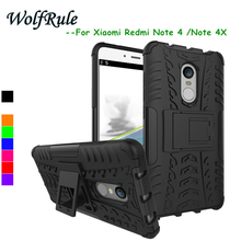 Xiaomi Redmi Note 4x Cases Redmi Note 4 Pro Cover ShockProof TPU Hard PC Stand Case For Xiaomi Redmi Note 4x Case Phone Funda <^