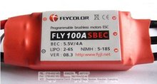 RC AIRPLANE ESC 100A BRUSHLESS MOTOR ELECTRONICS SPEED CONTROLLER(China)