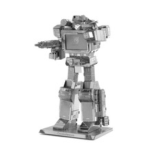 Metal Gundam Model Robot Assembled Action Figure Boy Toys Anime Around Child Gifts 3D High Nano-Dimensional Jigsaw Puzzle