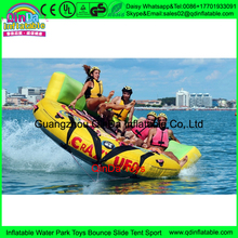 2017 Customised inflatable crazy UFO,Inflatable Water Crazy UFO Inflatable Towable Tube,water ski tube Flying sofa