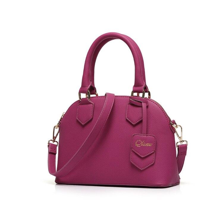Designer small purple shell bag fashion handbag high quality woman tote bags 2017 bag with short handle ladies purse kadin canta<br><br>Aliexpress