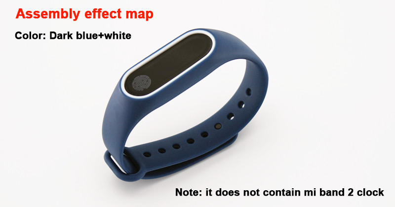 image for Xiaomi Mi Band 2 Strap For Miband 2 With Free Send Film Silicone Repla