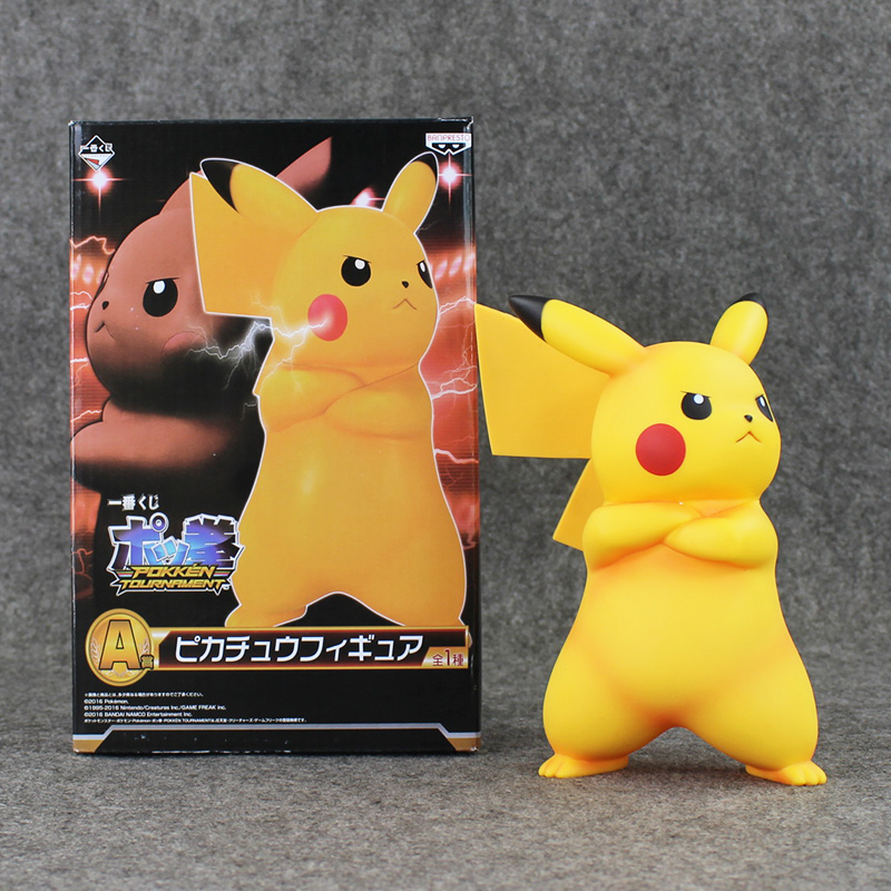 Cool Pikachu Figure Banpresto Pikachu Model Toy 18cm Anime Cartoon Doll for Kids<br><br>Aliexpress