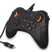 USB Wired Gaming Gamepad Pro Controller for Nintendo Switch, Steam, PC(Windows XP/7/8/10), PS3 & Android(China)