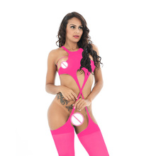 Buy Women Open Crotch Lingerie Sexy Erotic Lady Sexy Bodysuit Bodystocking Body Stocking Sexy Costumes Lenceria Exotic Apparel D6601