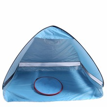 Fishing Tent Outdoor Camping Hiking Beach Summer Sun Shelter UV Protection Fully Sun Shade Quick Automatic Opening(China)