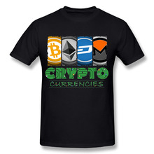Buy Fashion Streetwear Men Crypto Market Tee Shirt 100% Cotton Ethereum Bitcoin Litecoin T-Shirt for $11.88 in AliExpress store