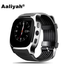 Aaliyah Bluetooth Smart Watch T8 With Camera Facebook Whatsapp Sync Call SMS Support SIM TF Card Smartwatch For Android Phone