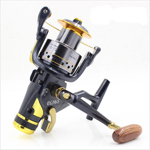 Bobing 1pc SW50/60 Full Metal Spool Spinning Reel 9+1BB 5.2:1 Dual Brake Systems Fising Reel Wheel Tackle Accessories Universal(China)