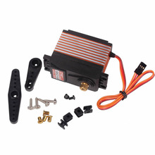 For CYS-S8218 Digital Metal 40KG High Gear Torque Servo 0.18s 38kg 1:5 RC Plane Car