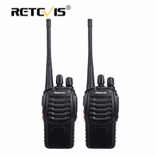 2pcs Retevis H-777 Portable Radio Walkie Talkie 16CH UHF 400-470MHz Handheld Ham Radio Hf Transceiver Handy Radio Communicator