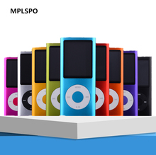 "MPLSBO 1.8 ""LCD 3th MP3 MP4 Speler mp3 player ondersteuning tot 32 gb micro sd geheugenkaart Video Foto viewer eBook Lezen stereophone(China)"