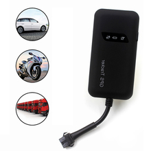 GSM GPRS Car Vehicle Motor GPS tracker GT02 tracking device real time Locator Car Vehicle Tracker Tracking Device GT02A(China)